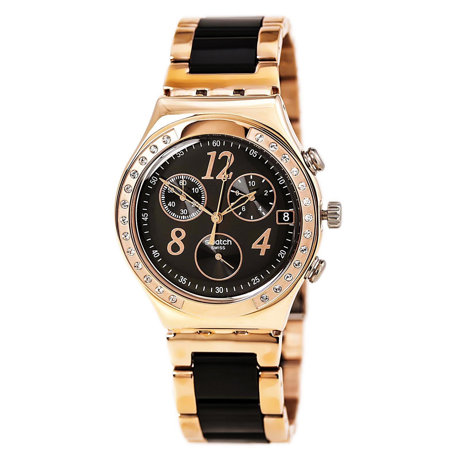 Swatch Dreamnight Rose Chronograph Ladies Watch YCG404G