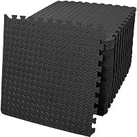 Starkhausen 192 Square Feet Puzzle Exercise Mat, EVA Foam Interlocking Tiles, Protective Flooring for Home Gym, Kids…