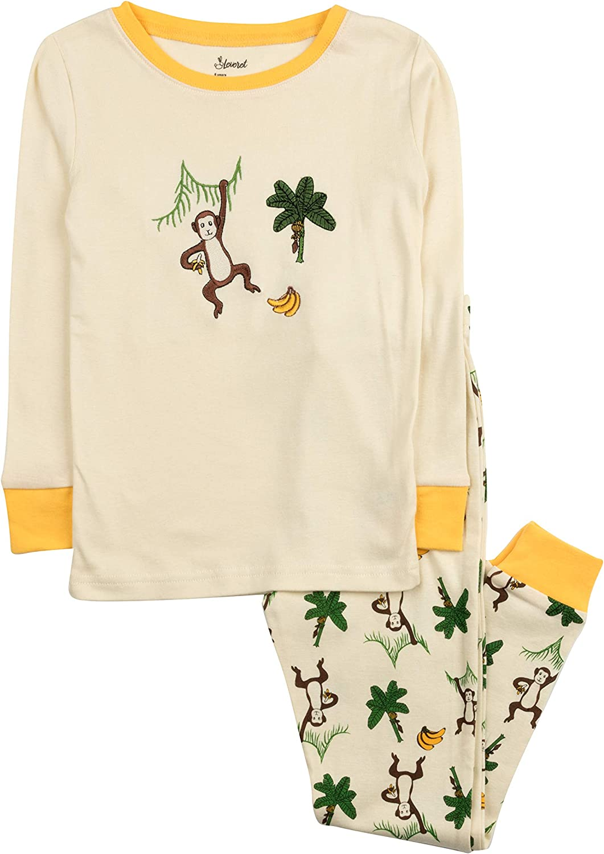 Leveret Kids /& Toddler Pajamas Boys Girls Unisex 2 Piece Pjs Set 100/% Cotton Sleepwear 12 Months-14 Years