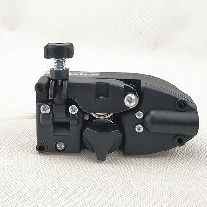 Alimentador de alambre, mini ensamblaje de alimentación de alambre de soldadura DC 24V / 12V, para el sistema de alimentación de la soldadora ...