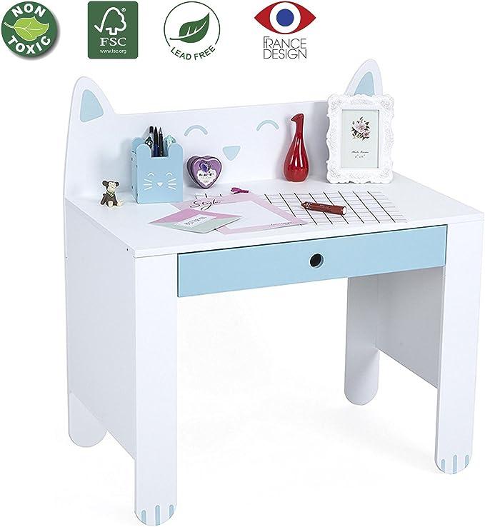 Mesa de Madera para Escribir de Luckup Kids Furniture para niños ...