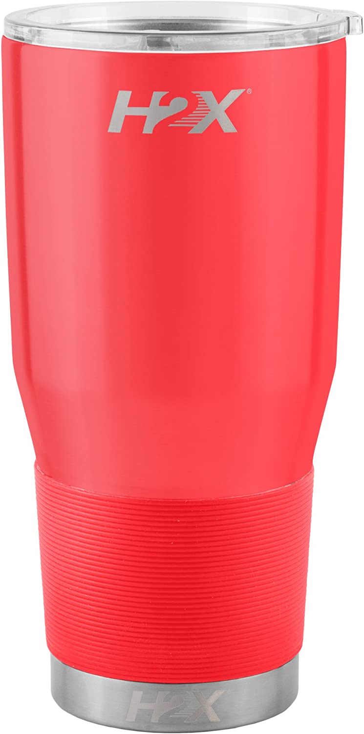 H2X Vacuum Sealed Ultra Tumbler 30-ounce Silver Boelter Brands 487949