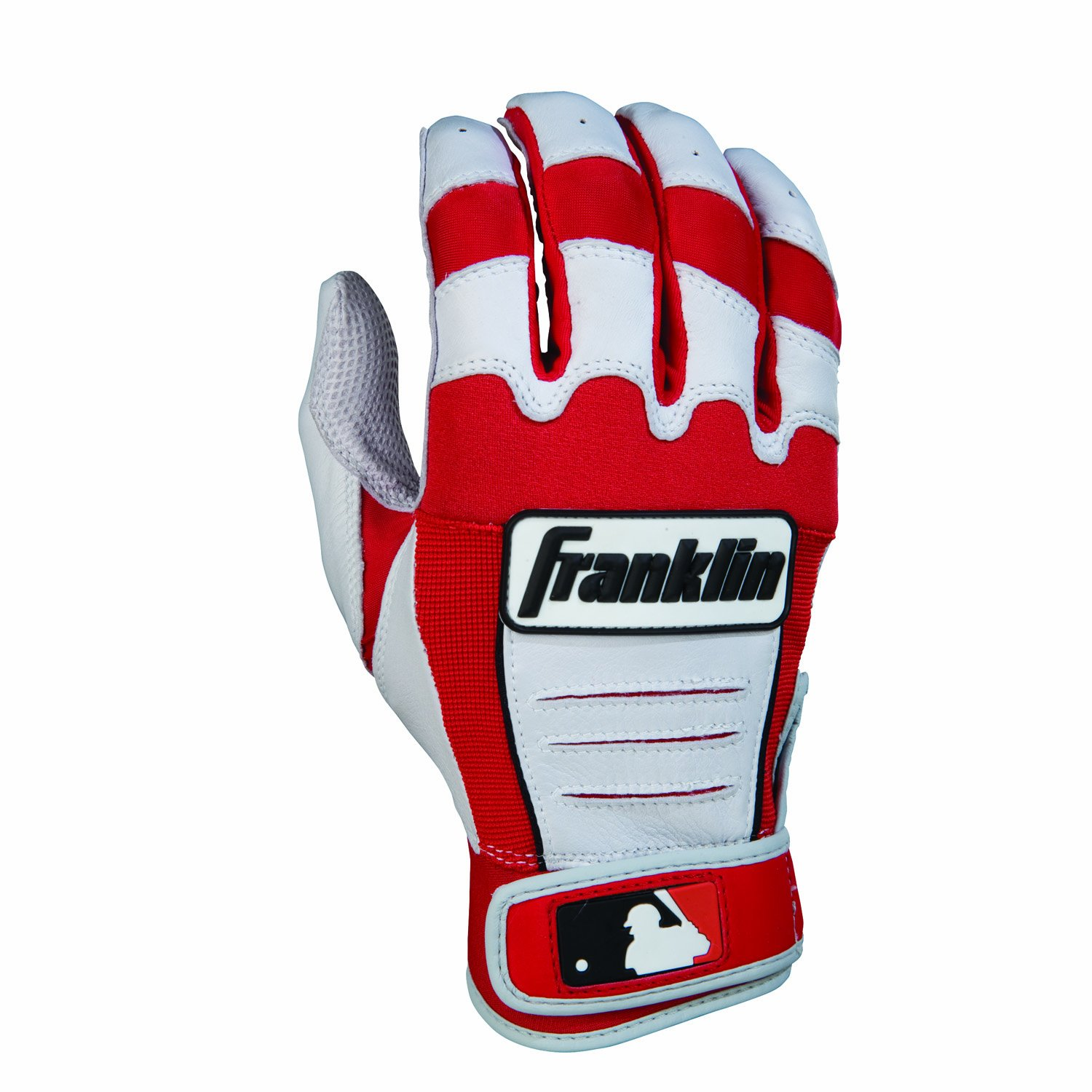 Franklin (フランクリン) スポーツ MLB CFX Pro バッティング グロ―ブ B006DOIOBO Adult Large|Red/Pearl Red/Pearl Adult Large