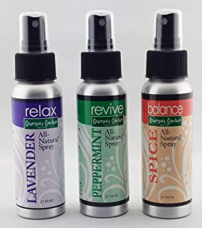 product image for Essential Oils Room Spray Kit - (3) 2.7 FL OZ Bottles - Pure Plant, Therapeutic Grade