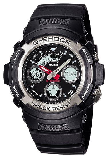reputable site a3673 dad68 [カシオ]CASIO 腕時計 G-SHOCK ジーショック AW-590-1AJF メンズ