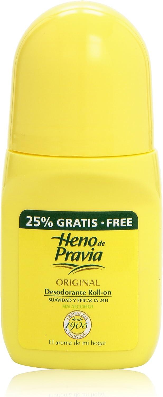 Heno De Pravia Desodorante Roll On 50 Ml Amazon Es Belleza