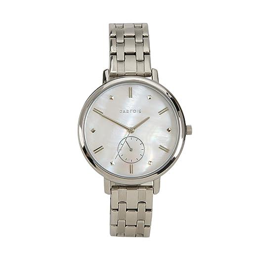 Parfois - Reloj Silver Tray - Mujeres - Tallas Única - Plateado: Amazon.es: Relojes