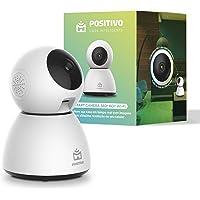 Smart Câmera 360º Bot Wi-Fi Positivo Casa Inteligente, 1080p Full HD, 25 FPS, áudio bidirecional, detecção de movimentos…