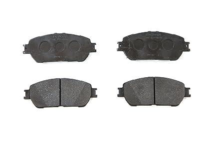 Toyota Brake Pads >> Toyota Genuine Parts 04465 08030 Front Brake Pad Set