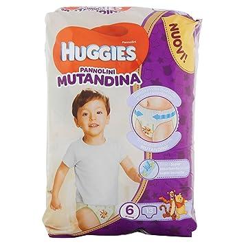 Huggies Pannolini Mutandina - Pañal (Niño/niña, Pañal desechable, 15 kg, 25 kg, Multicolor, 30 pieza(s)): Amazon.es: Bebé