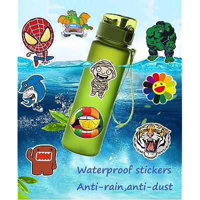 Fashion Brand Stickers Street Cool Water Bottle Vinyl Waterproof Luggage Car