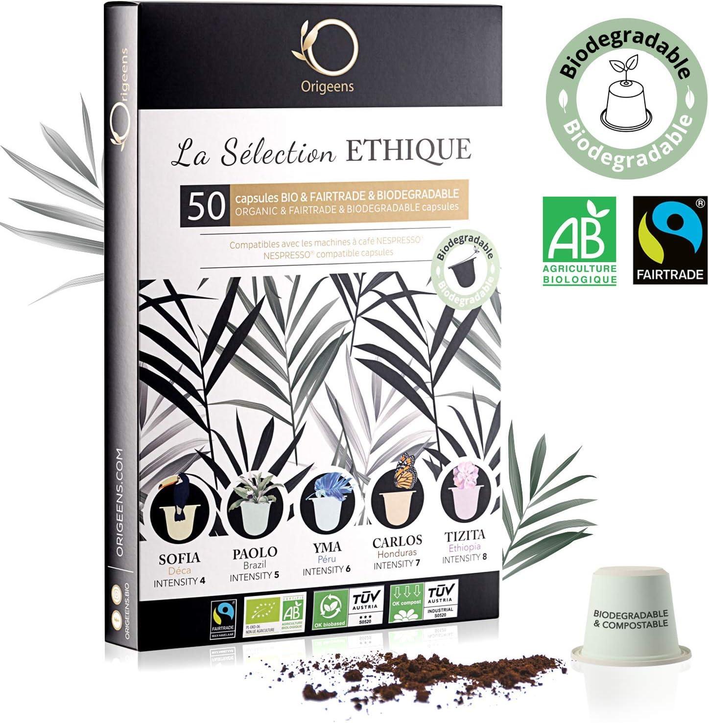 ☘️ Capsulas Nespresso Compatibles ○ Capsulas cafe ECOLÓGICAS ...