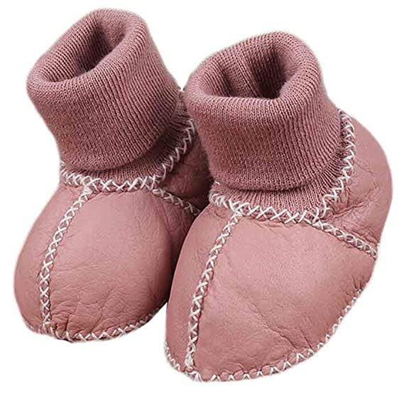 a150f76ab28c0 Amazon.com: Seipe Newborn Windproof Soft Bottom Snow Boots Prevent ...