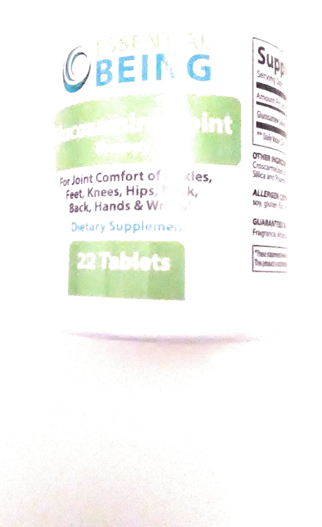 Essential Being Glucosamine Joint Therapy 22 Tablets