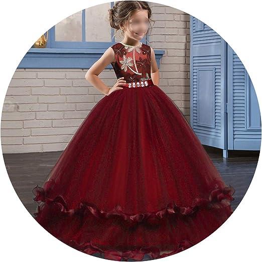 Disfraz de pétalos de Flores para niña, Elegante Vestido de Dama ...