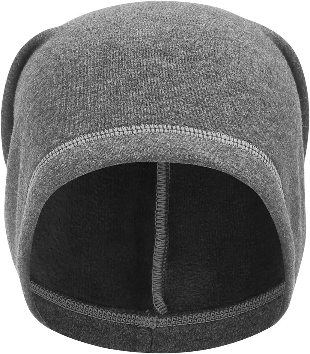 TAGVO Winter Beanie Hat Thermal Running Caps Elastic Cycling Hat with Soft Fleece Lining Warm Windproof Skull Cap Helmet Liner Ski Beanie for Men and Women Universal Size