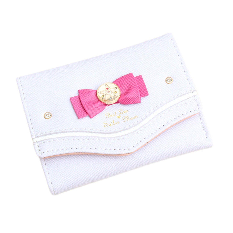 Sailor Moon cartera mujeres Lady corto Monedero mujeres Color caramelo Bow piel sintética para tarjeta Monedero bolsa de embrague, E: Amazon.es: Deportes y ...
