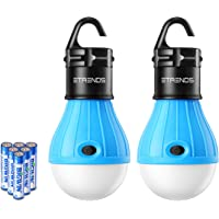 2-Pk. E-TRENDS Portable LED Lantern Tent Light Bulb