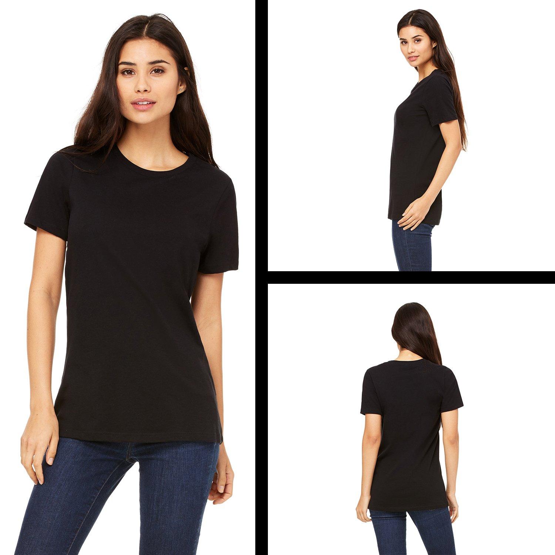 Expression Tees Neon Tiger Head Womens T-Shirt