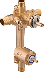 Moen 2571 Posi-Temp Pressure Balancing Valve with Built In 2-Function Transfer Valve, Includes Stops, CC/IPS