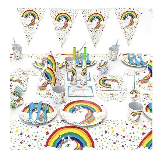 Unicornio de Fiesta de cumpleaños Conjunto Decoración ...