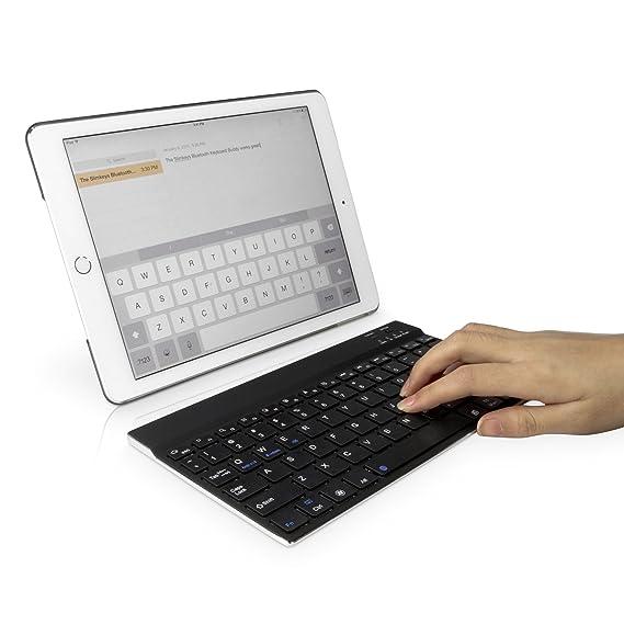 Amazon.com: Panasonic Toughpad FZ-G1 Keyboard, BoxWave [SlimKeys Bluetooth Keyboard] Portable Keyboard with Integrated Commands for Panasonic Toughpad FZ-G1 ...