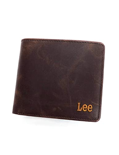 55e36bbd28e50e Amazon.co.jp: Lee 財布 リー 2つ折り財布 革財布 ブック型 0520370 LEE ...