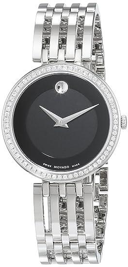 Reloj movado mujer negro
