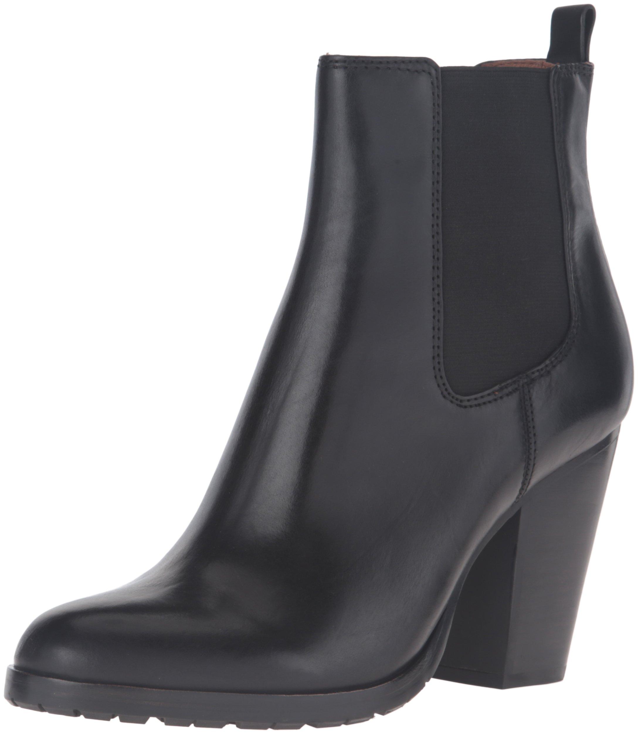 FRYE Women's Tate Chelsea Boot, Black, 8 M US