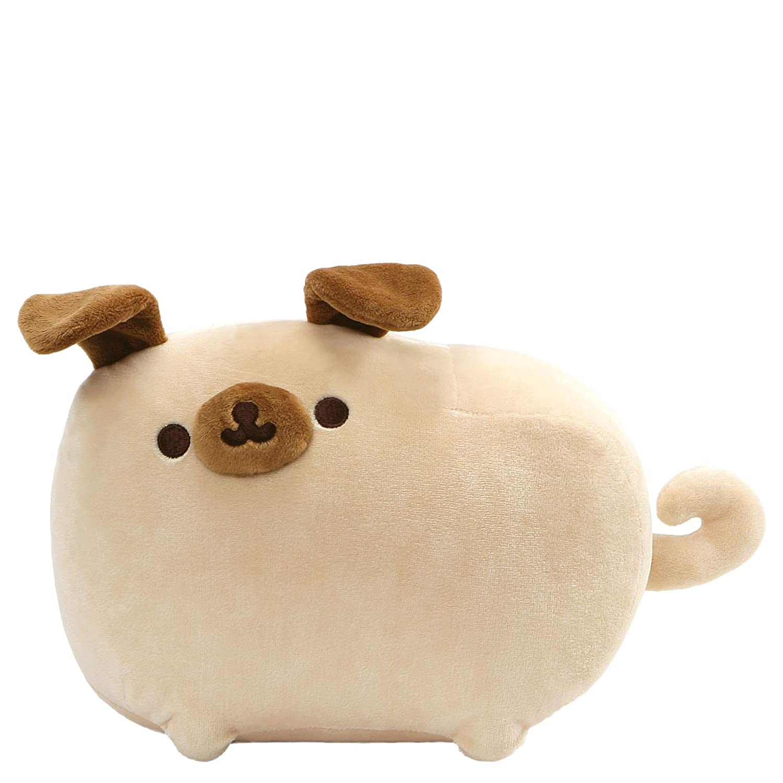 "GUND Pusheen Pugsheen Dog Plush Stuffed Animal with Poseable Ears, Tan, 9.5"""