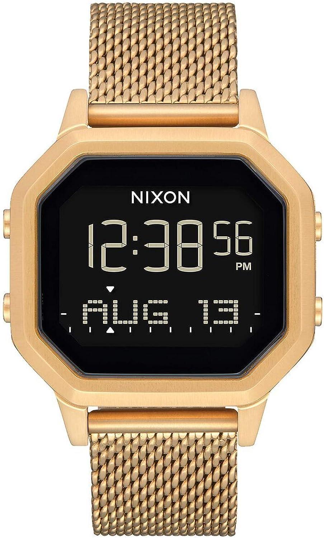 Nixon The Sirene Reloj para Mujer Digital de Cuarzo japonés con Brazalete de Acero Inoxidable A1272502