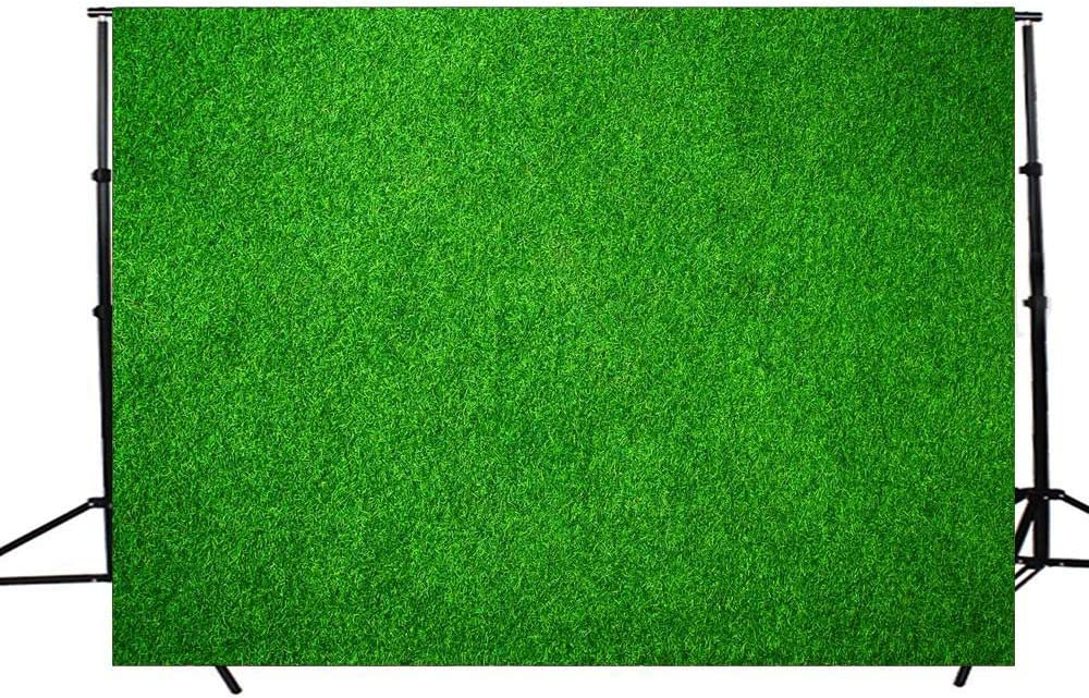 DODOING 7x5FT Natural Green Lawn Party Photography Background Spring Grass Nature Outdoorsy Theme Backdrops for Newborn Baby Lover Wedding Photo Studio Props