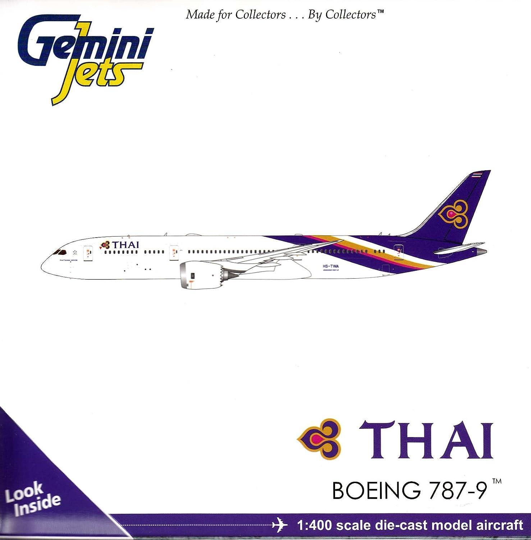 70% de descuento Gemini Jets GJTHA1691 Modelo Aviones Thai Airways Boeing B787-9 HS-TWA HS-TWA HS-TWA Dreamliner 1/400 Escala  minorista de fitness