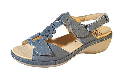 390a0a28f0e Db Shoes Pippa Women Sandals Wide Fitting - 6E  Amazon.co.uk  Shoes ...