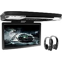 XTRONS 15.6 Inch 1080P Video HD Digital Widescreen Car Overhead Coach Caravan Roof Flip Down DVD Player HDMI Port New…