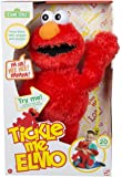 "123 Sesame Street 18"" Tickle Me Elmo Laughs & Giggles Childrens Kids Cuddly Toy"