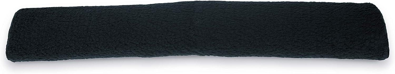 Kieffer 169/14283 Protectores de la cincha de la silla de montar, Negro, Talla Única