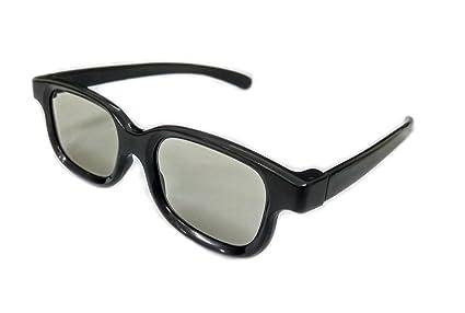 RealD Technology 3D Polarized Gafas para TV / Películas / Cine / HD