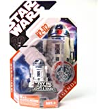 Star Wars Basic Figure R2-D2 w/ Electronic Light and Sound - 30th Anniversary TAC Saga Legends w/ Coin