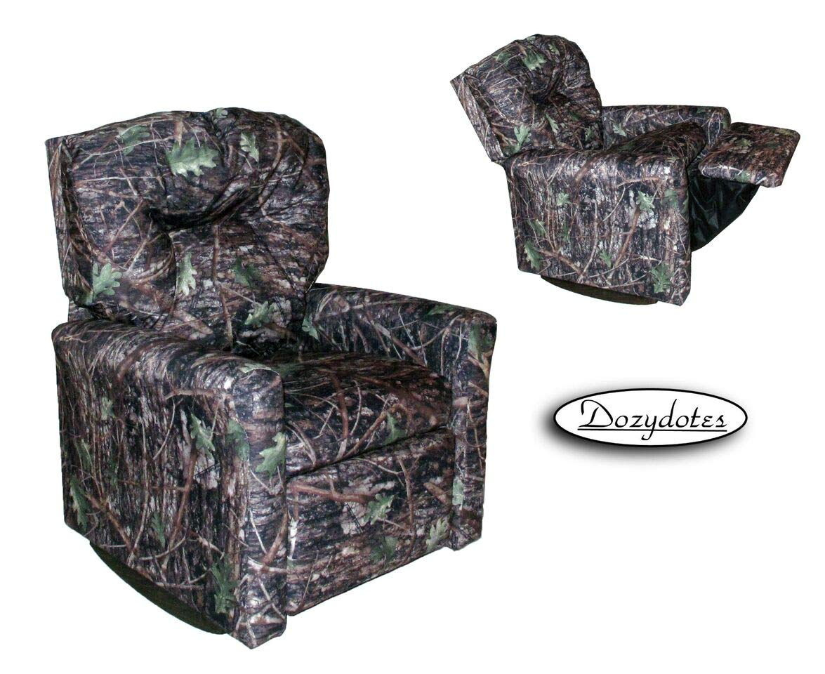 Dozydotes Contemporary Camouflage True Timber Conceal Rocker Recliner by Dozydotes