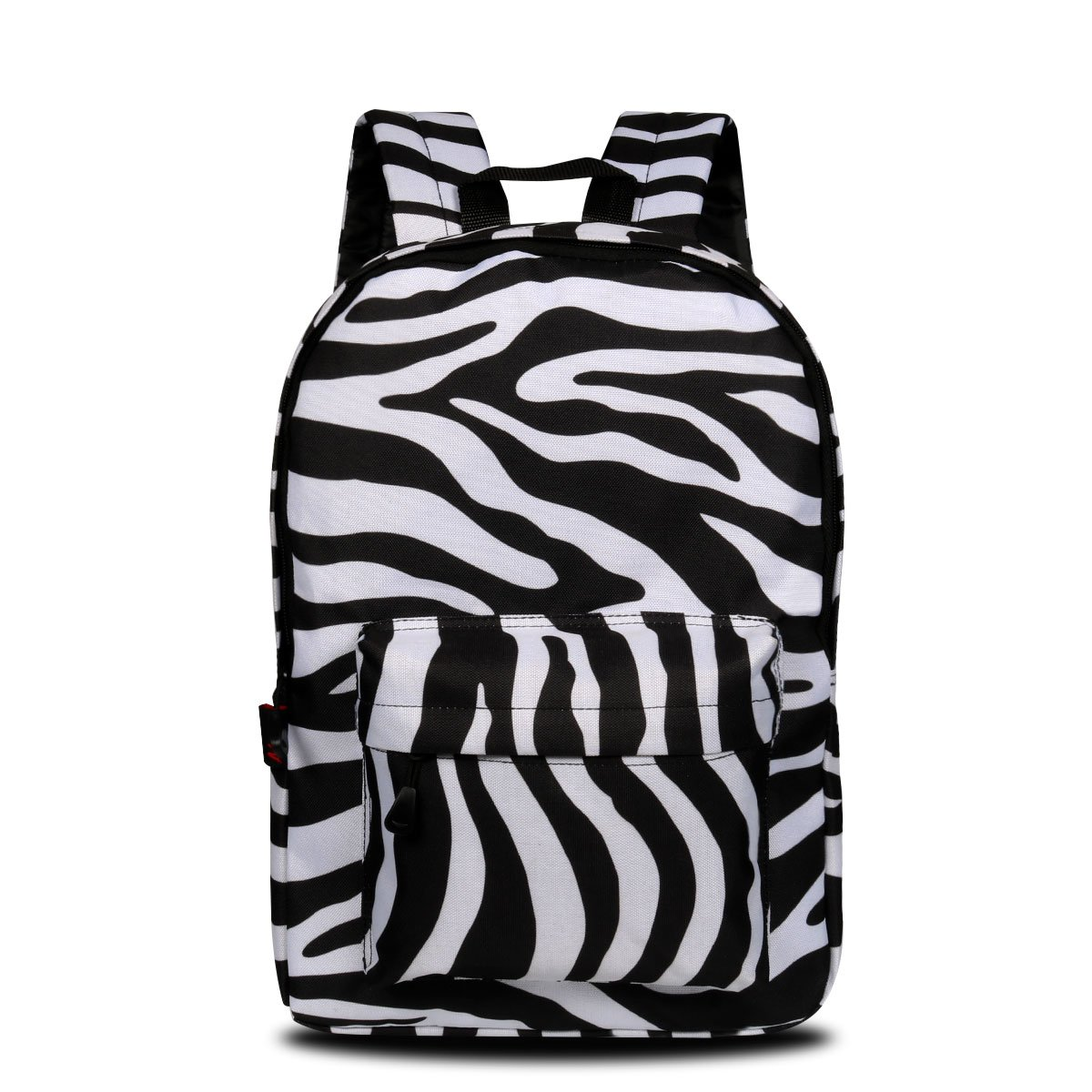 This gorgeous zebra print backpack certainly has a touch of the 80s about it - available in six designs