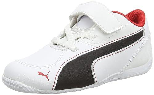 Puma Driftcat5Lvkdf6, Botines de Senderismo para Bebés, Blanco (Wht 04Wht/Blk/Red 04), 19 EU: Amazon.es: Zapatos y complementos