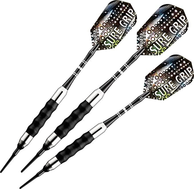 Viper Sure Grip Soft Tip Darts – Keep Your Hand Placement Consistent With Every Throw