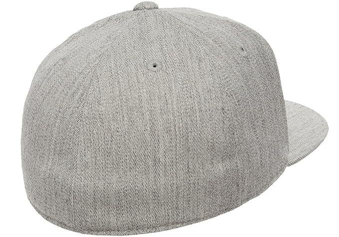 7902848d3 Amazon.com: Flexfit Premium 210 Fitted Flat Brim Baseball Hat: Clothing