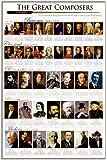 Classical作曲家ポスター印刷、24x 36ポスター印刷、24x 36