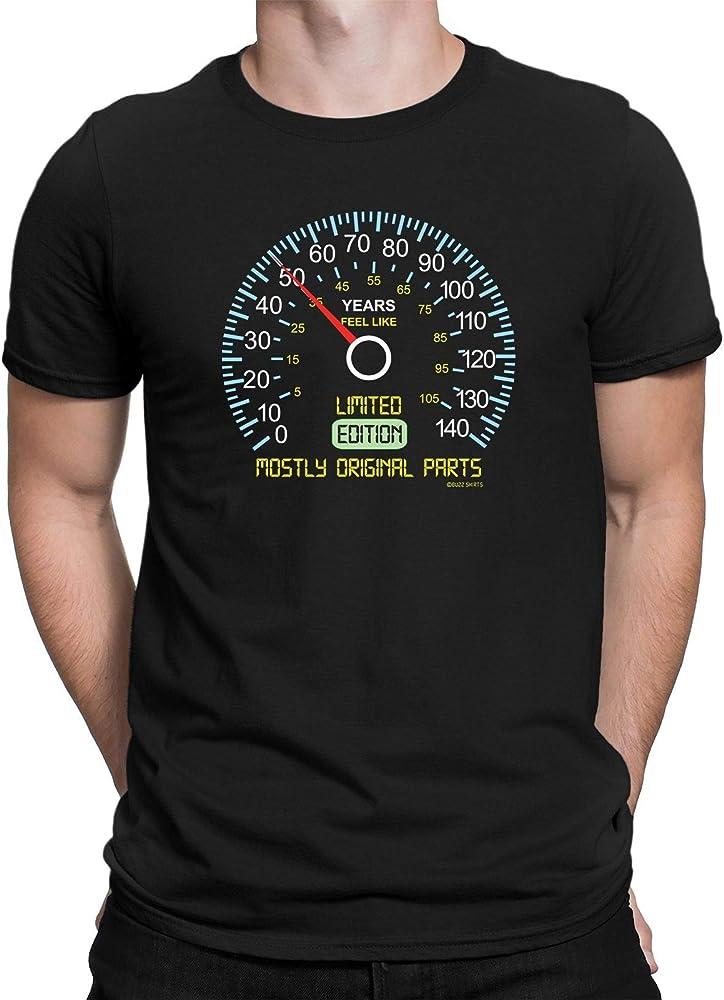buzz shirts 50 Cumpleaños Regalo - Velocímetro 50 Edición Limitada - De Los Hombres Camiseta