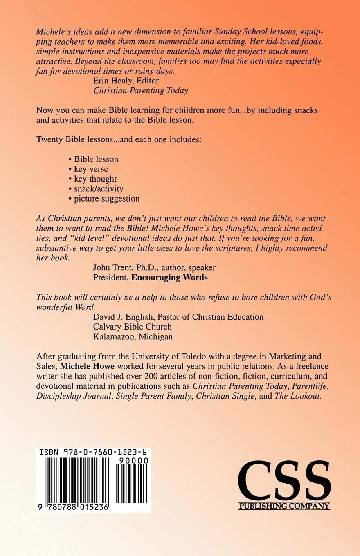 Bible Stories Food And Fun Michele Howe 9780788015236 Amazoncom