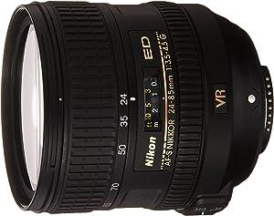 NIKON 24-85mm F/3.5-4.5G ED VR AF-S Nikkor Lens - White Box