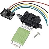 Terrific Qiilu Heater Motor Blower Fan Resistor With Wiring Repair Plug Wiring Digital Resources Jebrpcompassionincorg