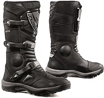 Forma Adventure Off Road Motorcycle Boots (Black, Size 11 USSize 45 Euro)